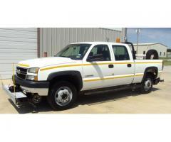 2006 CHEVROLET CREW CAB HY RAIL TRUCK