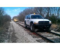 2002 Dodge Durango 4x4 SUV 4-Door 4.7L V8 Railroad Hirail Hyrail