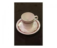Corelle Coffee Cups & Saucers