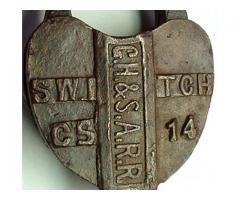 GH&SA CS-14 Switch Lock Wanted