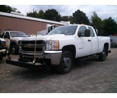 2007 CHEVROLET 2500HD EXTENDED CAB HY-RAIL PICKUP TRUCK