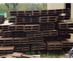 Large Lot of Steel C-Channels