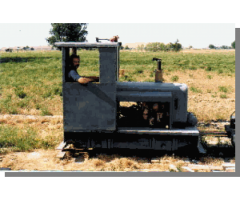 18 Inch Narrow gauge railroad and mining equipment - Idaho