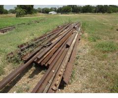 Scrap Railroad Materials in Llano,Texas