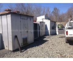 3 - Rail Storage Bungalows & 6 - Cabinets