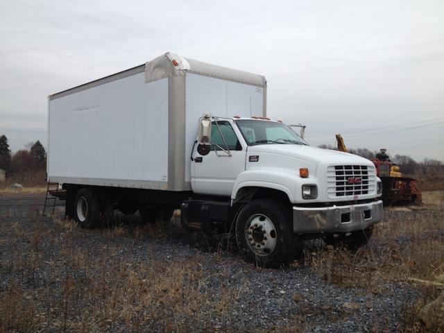 gmc c6500 box truck harrisburg railswap org GMC Dump Truck gmc c6500 box truck