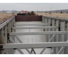 110) 4,300cu.ft. Aluminum OTH rapid discharge