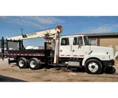 98 VOLVO HI RAIL NATIONAL CRANE