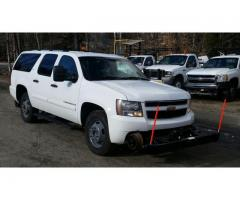 2007 CHEVROLET SUBURBAN 2500 WITH HYRAIL GEAR