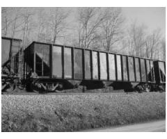 Steel (3) Pocket Open Top Hopper Cars