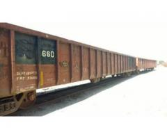 (11) 65 ft - 100 ton gondola cars