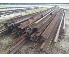 131 RE 39/40' LENGTHS TORCH CUT RAIL