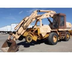 1997 CASE BADGER HI RAIL EXCAVATOR