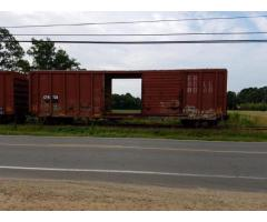 (4) Boxcars for lease