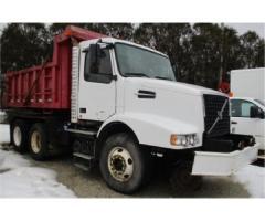 06 Hi Rail Volvo Roto 180 Dump Truck