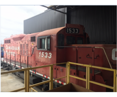 EMD And GE snow plow