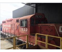 GE 65 ton locomotive
