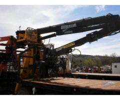 Mack Flatbed w/ Knuckle Boom Material Handler