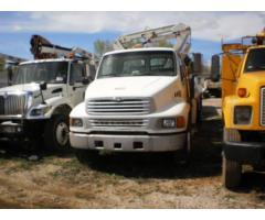 Sterling Acterra Flatbed w/ Hydraulic Crane
