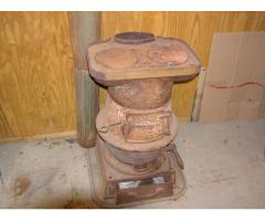 Cooking stove from Frisco caboose