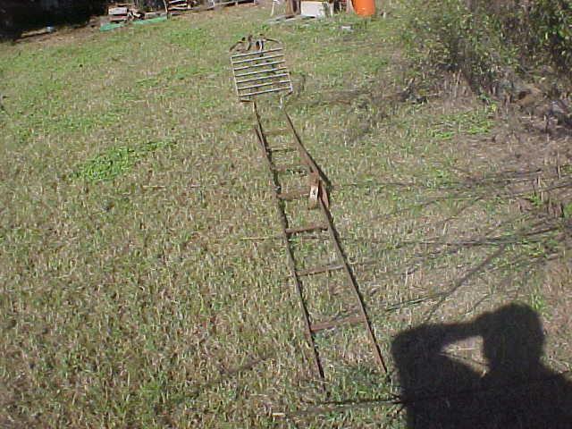 Rock Island TP-5 signal access ladder.