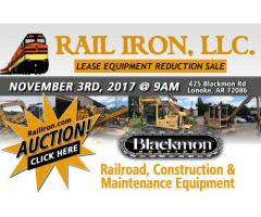 Railiron llc. Lease inventory reduction sale