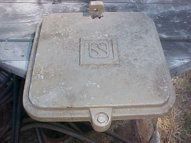 US&S Co terminal base cover door