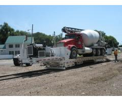 Heavy Hauler for Rail Equipment