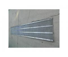EMD F-Unit/E-Unit Stainless Radiator Grill Sections