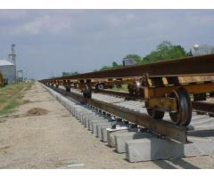 (40) Geismar Mini Rail Train Carts. Model TR1 CWR