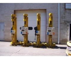 Locomotive/Railcar Jacks, Qty. 4,  20 ton